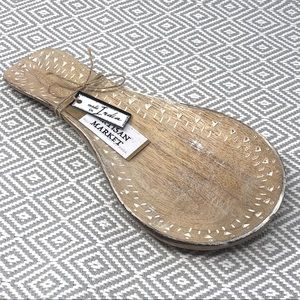 The Artisan Market Etched Wood Spoon Rest
